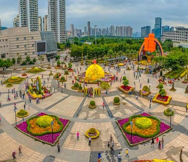 厦门海沧市民广场户外拓展团建训练基地